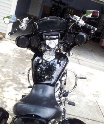 Jafar Rashed's Custom Honda VTX