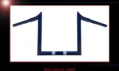 """12"""" STRAIT HOOK BARS CUSTOM APE HANGER FOR 2015 ROAD GLID"""