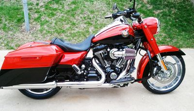 jim backus 2014 screamin eagle cvo road king