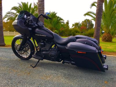 Jason's 2015 harley road gide
