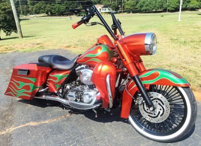 Jeff Hopkins 2004 Road King Custom