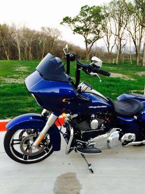 Bradley Baas 2015 Harley Road glide