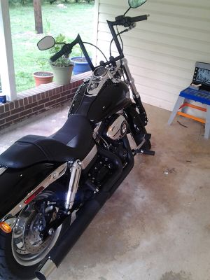 Richard Kennedy's Custom Harley Dyna