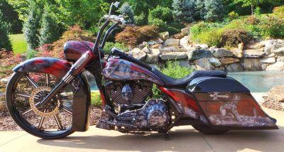 Wayne Phelps Sic Custom Harley Road Glide