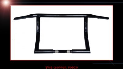 "16"" STRAIT EDGE CUSTOM DRAG BARS FOR HARLEY STREET GLIDES"