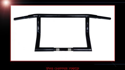 "14"" STRAIT EDGE CUSTOM DRAG BARS FOR HARLEY STREET GLIDES"