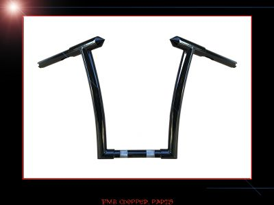 "14"" HELLS GATE APE HANGER BARS HANDLEBARS FOR HARLEY ROAD GLIDES"