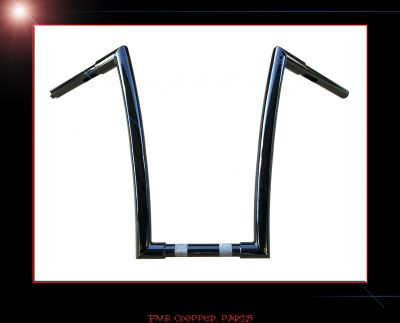 "16"" BLAZED APE HANGER HANDLEBARS FOR HARLEY ROAD GLIDES"