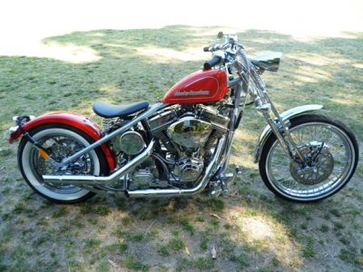 Ted Lewis's bobber build