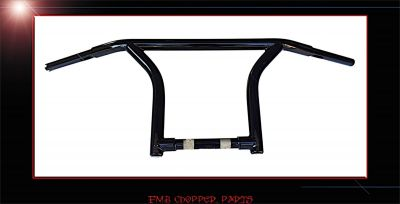 "14"" DIRTY D BAGGER DRAG BARS CUSTOM HANDLEBARS FOR HARLEY ROAD GLIDES"