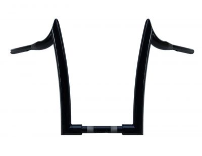 "14"" PHATTY MERCS 1-1/2 APE HANGERS 2014 BELOW HARLEY ROAD GLIDE"