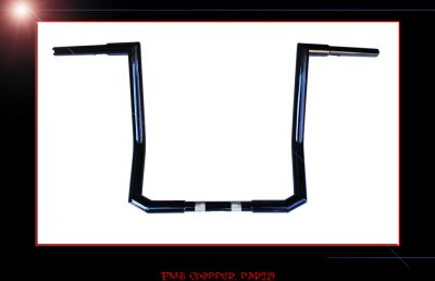 "12"" SMOOTH HELL RAZOR BARS APE HANGER 2014 UP HARLEY STREET GLID"